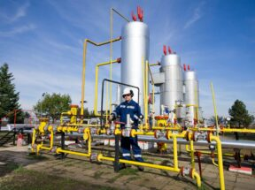 Natural Gas Employee at Well Site