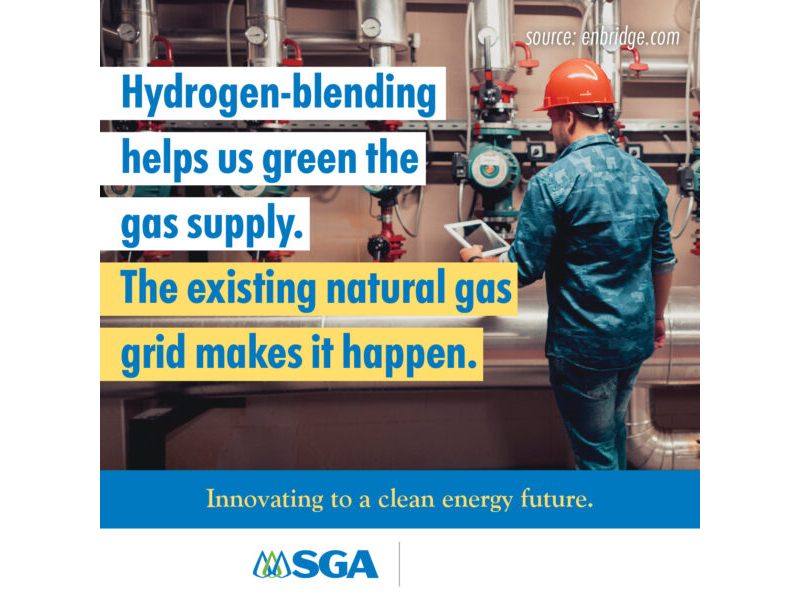 Apr Post 7 - Hydrogen-Blending Helps Us Green the Gas Supply